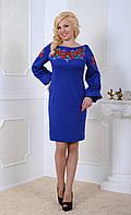 Эксклюзивное женское платье с вышивкой