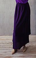 Шёлковая юбка-улитка