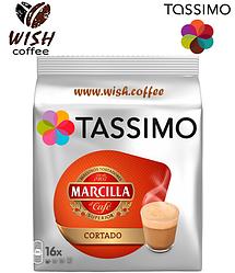 Кофе в капсулах Тассимо - Tassimo Marcilla Cortado (16 порций!!!)