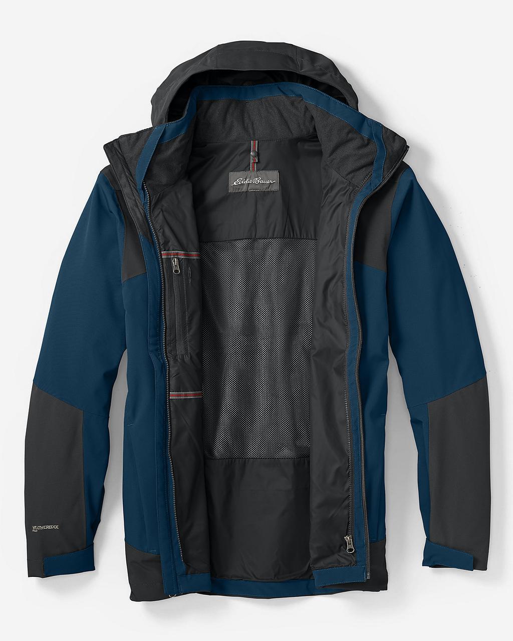 Мембранная куртка мужская Eddie Bauer Mens All-Mountain Shell CREEK