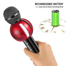 Беспроводной Bluetooth караоке микрофон AT MOUSE PC Smart TV, фото 3