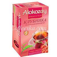 Чай черный Alokozay  с клубникой 25 ф/п