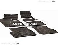 Авто коврики резиновые Audi A6 2006-2011, 4 шт