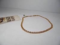Браслет золотой, размер 20 см, вес 3,82 грамм