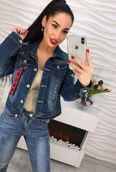 Стильная джинсовая ветровка. (542)