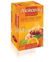 Чай чёрный Alokozay  с апельсином 25 ф/п