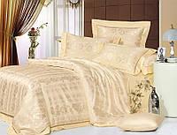 Комплект постельного белья шелковый жаккард La scala JT-23