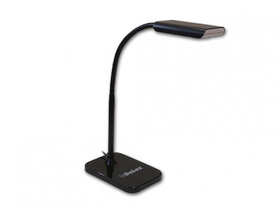 Настольный светодиодный светильник DELUX TF-230 3.5 Вт LED черный