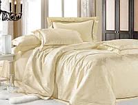 Комплект постельного белья шелковый жаккард La scala JT-24