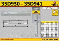 Ключ торцевой двухсторонний трубчатый L1-135мм., 14 x 15мм.,  TOPEX 35D934