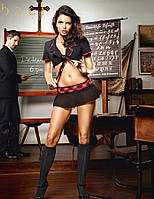 BACI Комплект «Староста Класса» 2-piece School girl uniform black-red B1279-BLACK RED