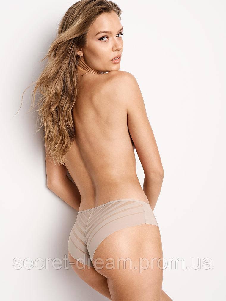 Трусики Victoria's Secret Dot Mesh Caged Cheeky Panty (XS)