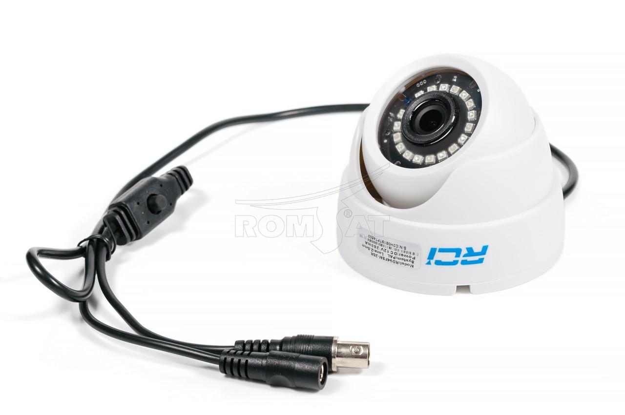 Камера AHD внутренняя купольная RCI RD94FHD-36IR 1080P