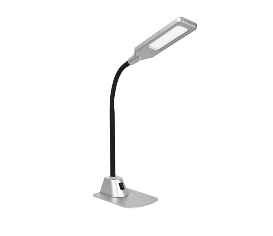 Настольный светодиодный светильник DELUX TF-450 5 Вт 4000K LED серебро