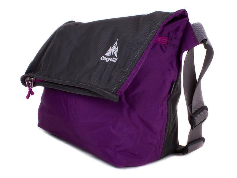 5792fd671609 Женская спортивная сумка через плечо ONEPOLAR (ВАНПОЛАР) W5637-violet -  ManWood - cтильные