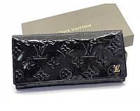 Женский кошелек в стиле Louis Vuitton (8431) black
