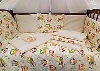 Набор постельного Эко-белья для новорожденных малышей