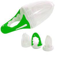 Фрут Фидер, сеточка для прикорма (зеленый цвет), Baby team