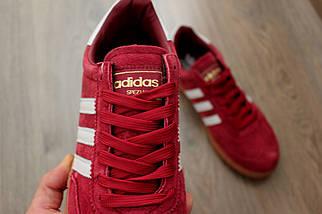 Мужские кроссовки Adidas Spezial  (Адидас Специал/Спешл) Red, фото 3