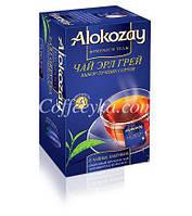 Чай черный Alokozay  с бергамотом, 25 ф/п