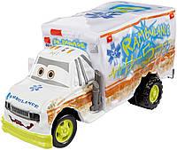 """Машинка Доктор Демедж из м/ф """"Тачки 3"""".Disney/Pixar Cars 3 Deluxe Dr. Damage Die-Cast Vehicle, 1:55 Scale"""