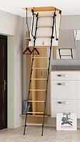 Чердачная лестница Bukwood  Luxe Metal Mini 80х60х265