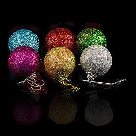 Игрушки елочные шары Ассорти,6 шт.