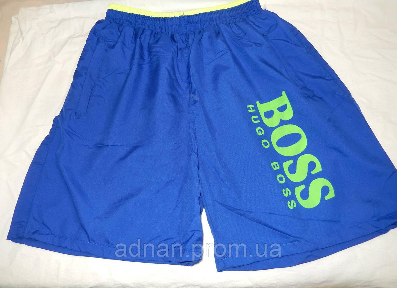 Мужские шорты, пляжные Принт BOSS, змейка на кармане 002