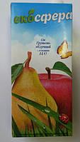 """Сік 1л грушево-яблучний з м'якоттю """"Екосфера"""""""