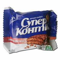 """Печенье """"Супер-Контик"""" шоколадный 50г """"Конти"""""""
