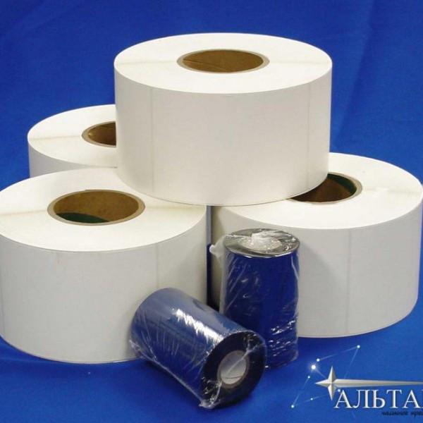 Расходные материалы для печати этикеток для одежды, стикеров для транспортной упаковки