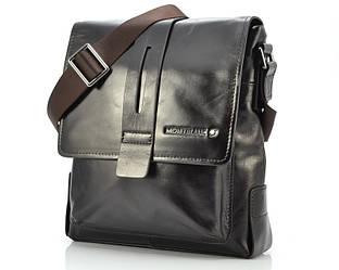 Коричневая мужская сумка Montblanc 517-5
