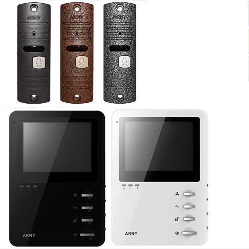 Комплект видеодомофона с памятью Arny AVD-410M+AVP-05