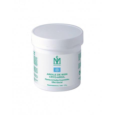 Крио-Аргил маска-глина с растениями и эфирными маслами «Замораживающий эффект» для тела, 250 мл