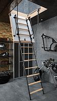 Чердачная лестница Bukwood  Luxe Metal Standard 110х60х280