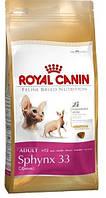 Royal Canin (Роял Канин) SPHYNX ADULT корм для Сфинксов старше 12 месяцев, 2 кг