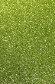Фоамиран с блестками САЛАТОВЫЙ 10 листов (2мм/20*30cm)