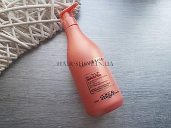 Укрепляющий шампунь предотвращающий ломкость волос -Shampoo Loreal professionnel  INFORCER B6+Biotin 500 ml