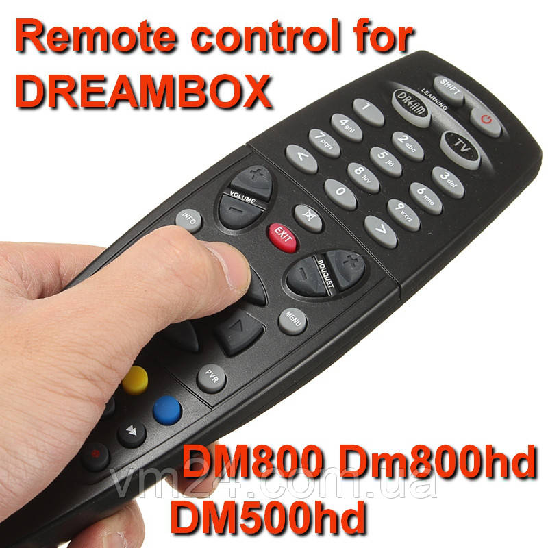 Пульт д/у  DREAMBOX SUNRAY4 DM800HD DM800SE DM800PV DM500HD DM800HD DM7020HD DM7025HDпрограммируемый