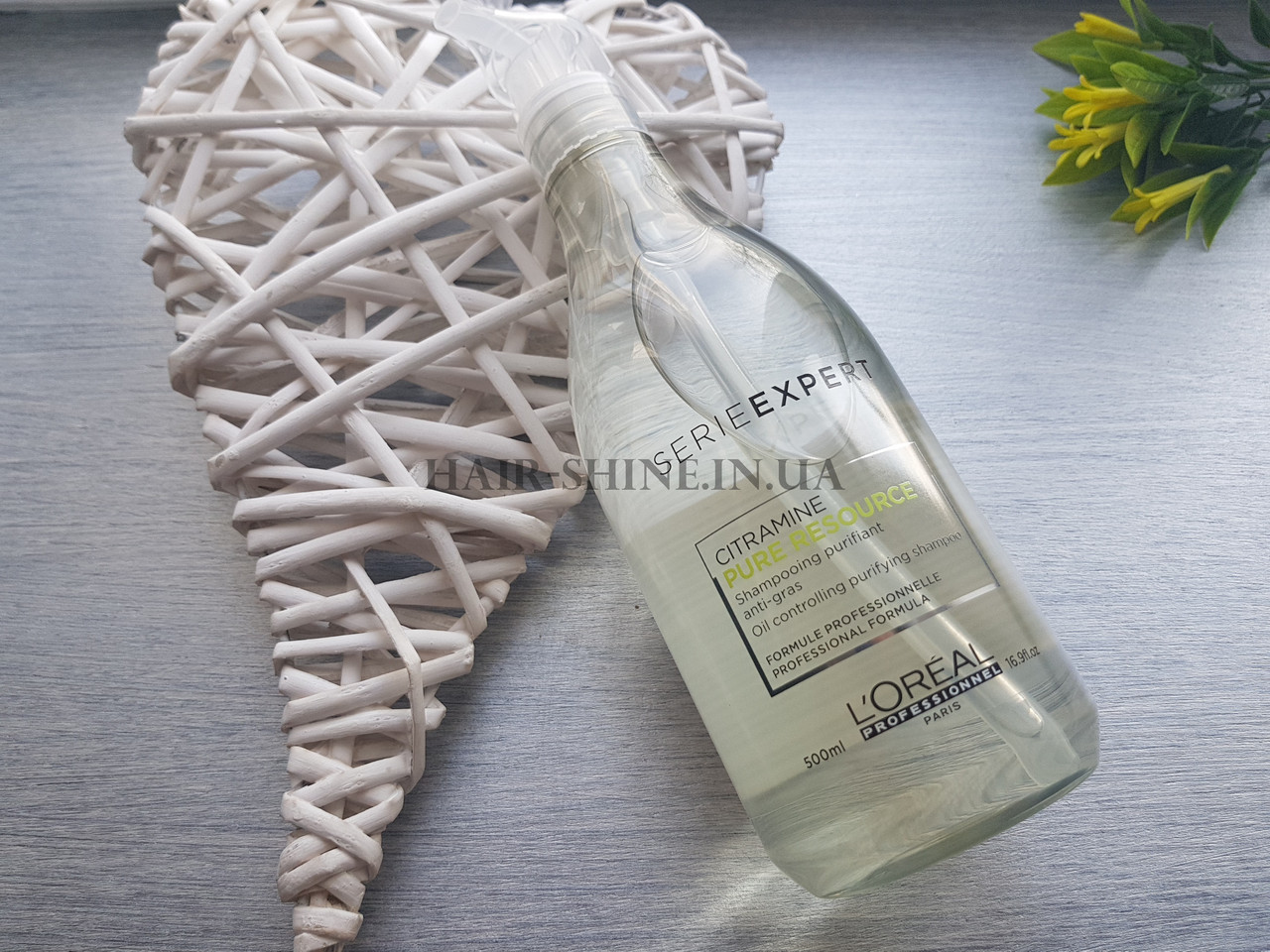Очисщающий шампунь для жирных волос - Pure Resource omega six Shampoo