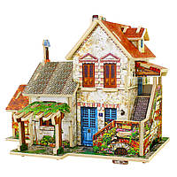 Деревянный 3D конструктор Фермерский домик. Франция (F124)