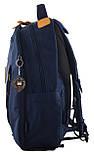 555618 Рюкзак молодежный OX 349, 46*29.5*13, синий YES, фото 3