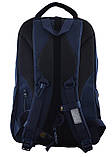 555618 Рюкзак молодежный OX 349, 46*29.5*13, синий YES, фото 4