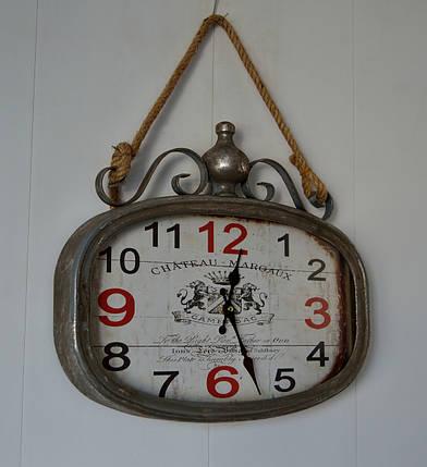 Настенные металлические кварцевые часы на канате Шато Марго (3811 А), фото 2