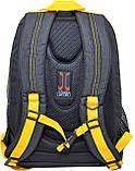 552256 Рюкзак подростковый Oxford ХО76 черный, 42*32*18см Oxford, фото 3
