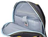 552256 Рюкзак подростковый Oxford ХО76 черный, 42*32*18см Oxford, фото 5