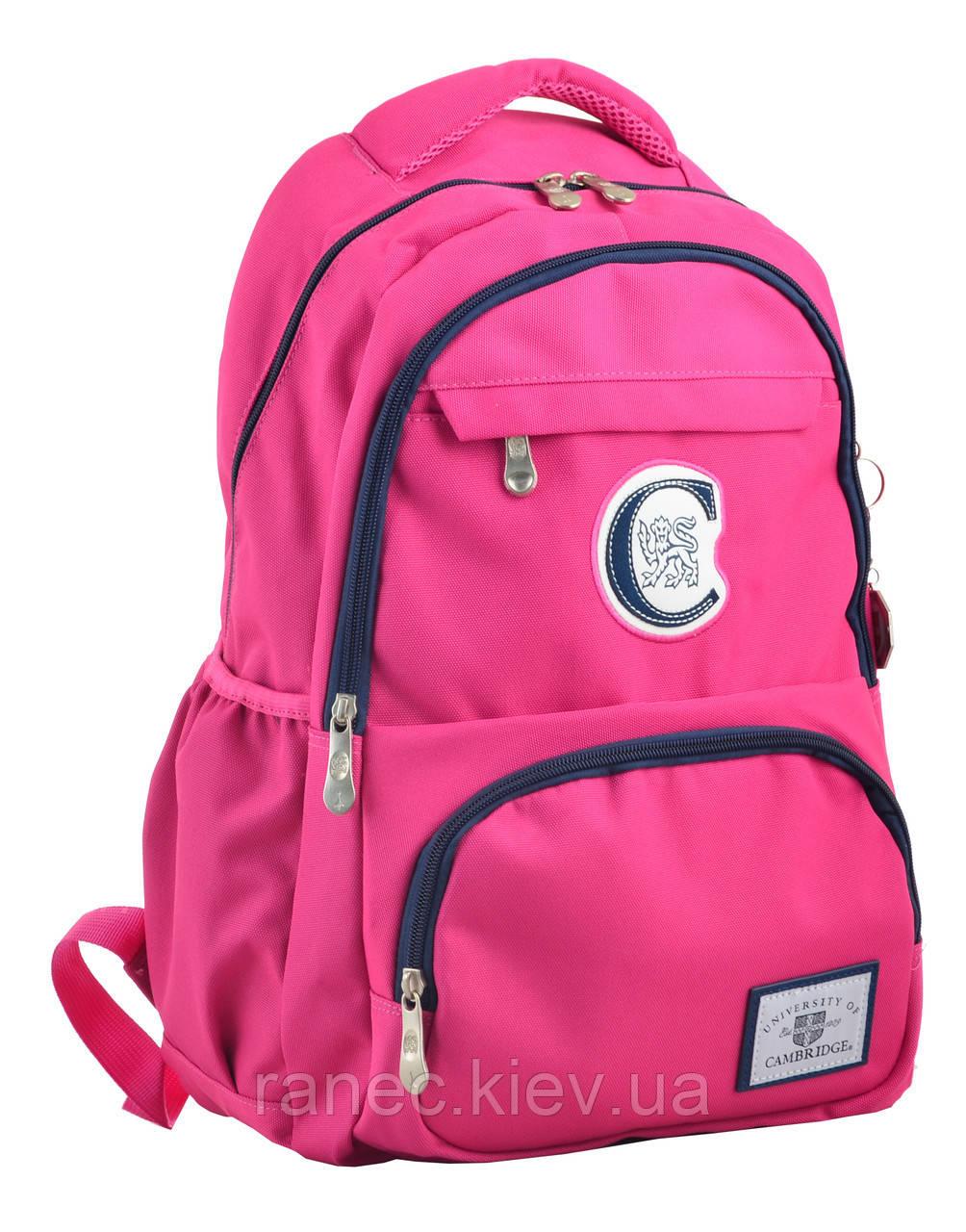 Рюкзак молодежный CA 151, 48х30х15, розовый 555752 YES