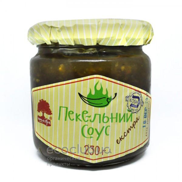 Соус адский экстра зеленый ТМ Інша їжа 230г