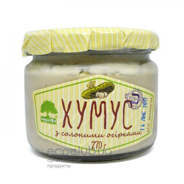 Хумус с солёными огурцами ТМ Інша їжа 270г