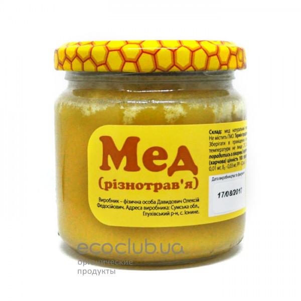 Мед разнотравье FOP Davidovich 275г